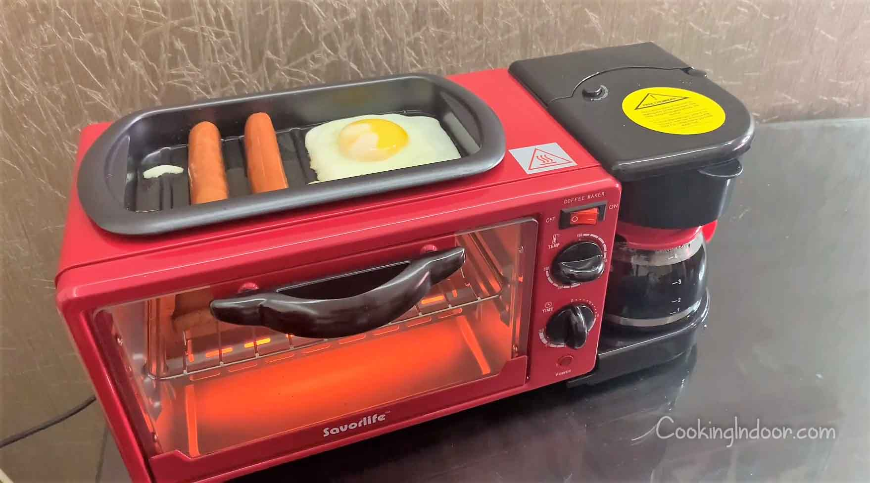 Best toaster oven coffee maker