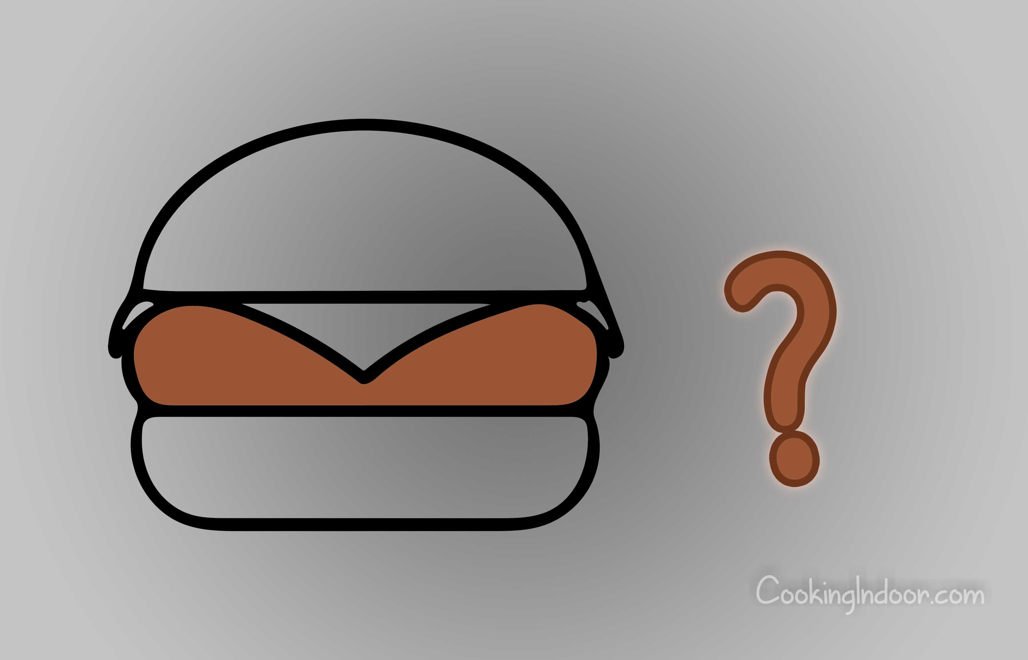 Burgers on panini press