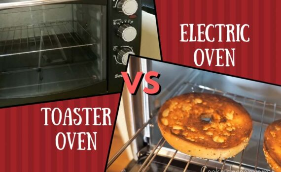 Electric oven vs toaster oven