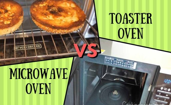 Microwave oven vs oven toaster