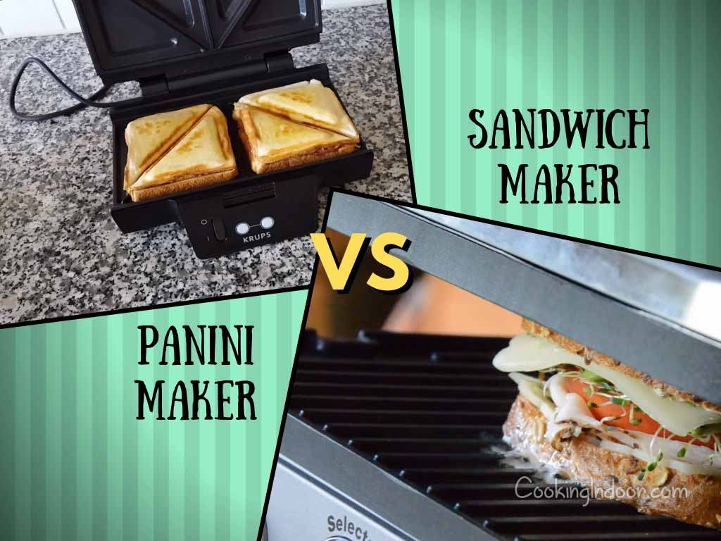 Panini maker vs sandwich maker