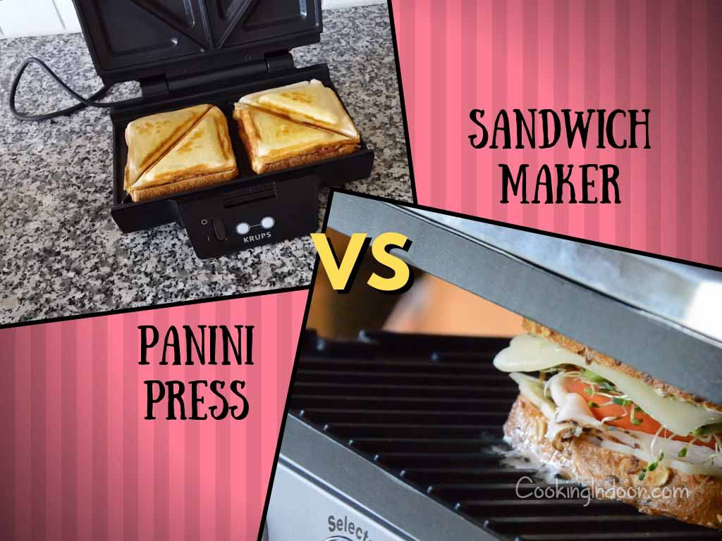 Panini press vs sandwich maker
