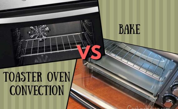 Toaster oven convection vs bake